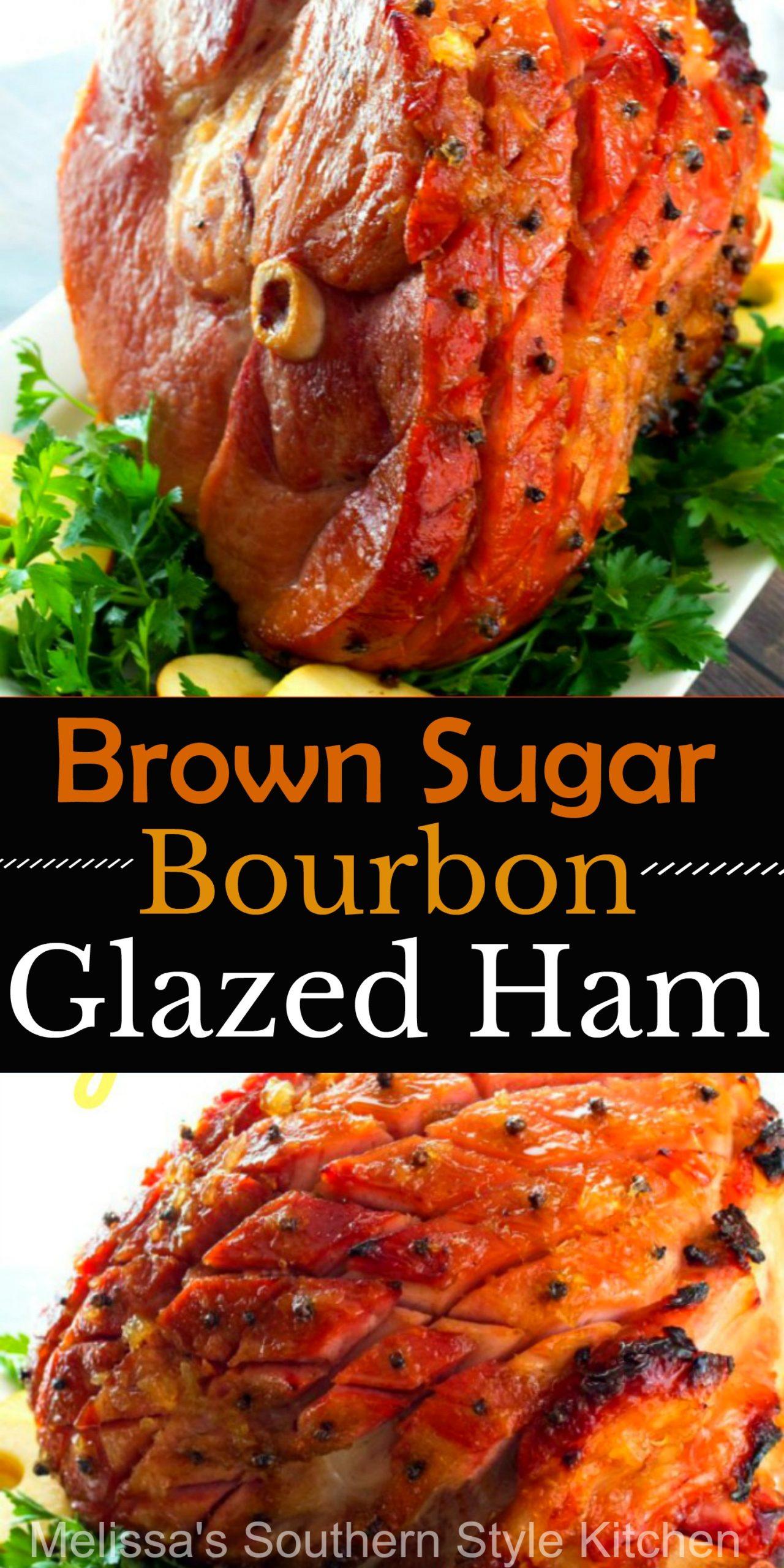 Brown Sugar Bourbon Glazed Ham