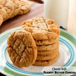 Recipe For Classic Soft Peanut Butter Cookies