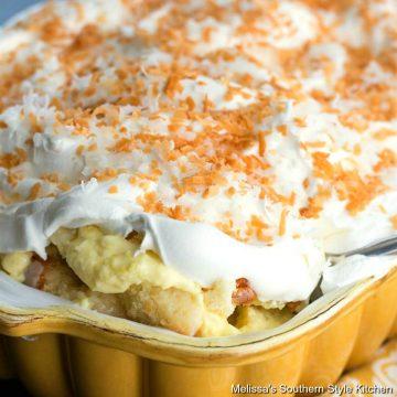 Coconut Cream Cake Pan Trifle