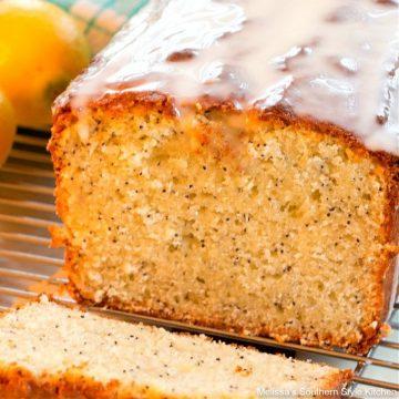 Southern style Meyer Lemon Poppy Seed Bread