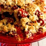 Easy Cherry Pie Crumb Bars