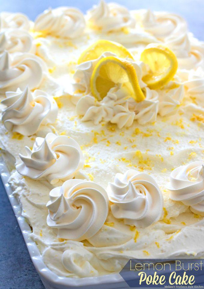 Southern style lemon cake recipe