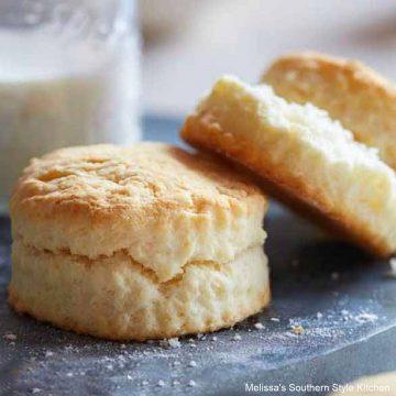 Easy Cream Biscuits recipe