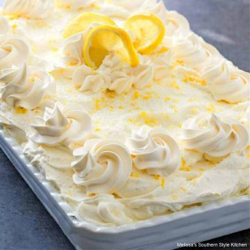 Lemon Burst Poke Cake recipe