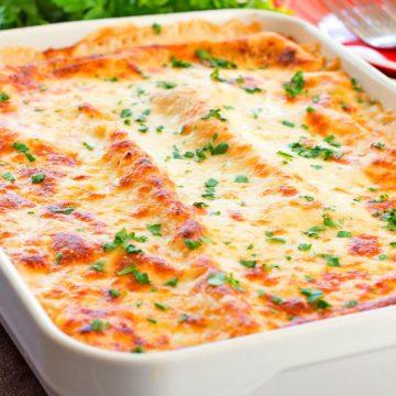 Cheesy Chicken Spinach And Artichoke Lasagna Recipe