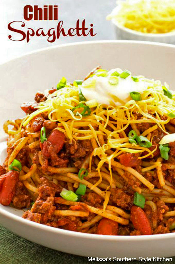 how to make Chili Spaghetti