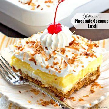 Hawaiian Pineapple Coconut Lush recipe