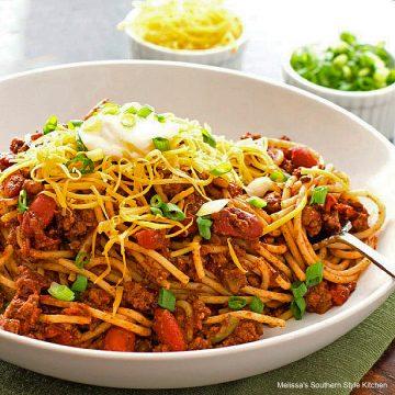 best Chili Spaghetti