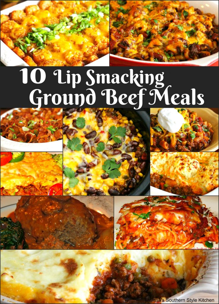 10 lip smacking ground beef meals for Different meal ideas for ground beef