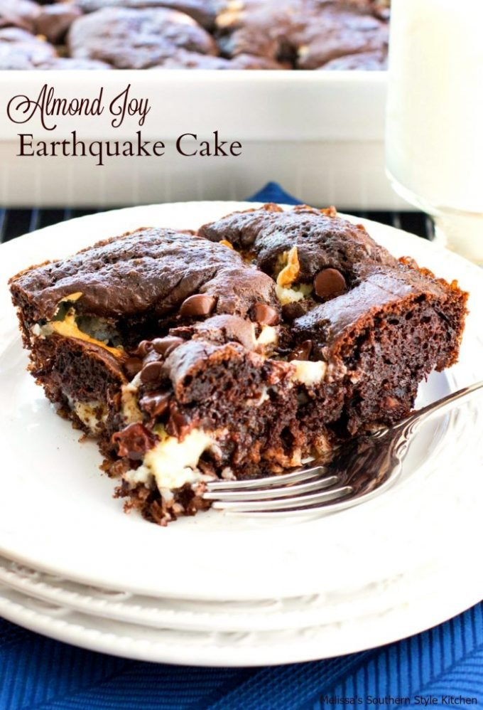 Almond Joy Earthquake Cake