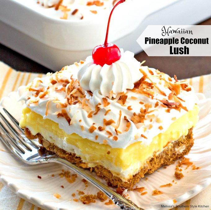 Hawaiian Pineapple Coconut Lush