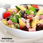 Recipe For Mediterranean Penne Pasta Salad