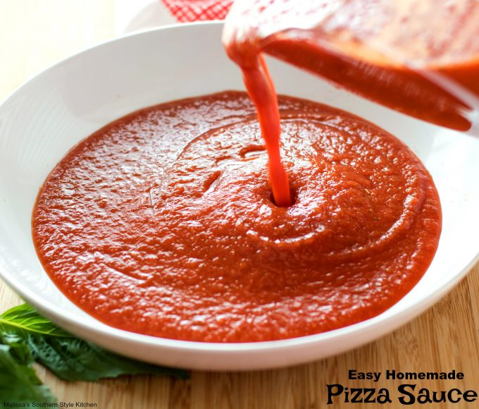 Image result for homemade pizza sauce