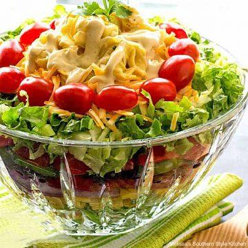 layered-southwestern-cheese-tortellini-salad