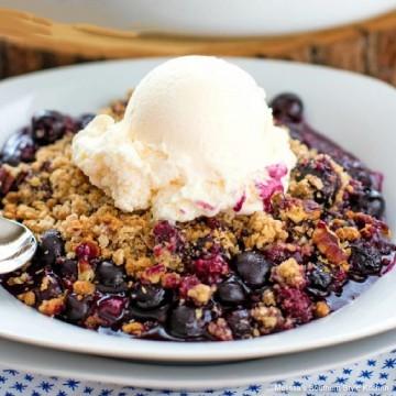 best-blueberry-crisp-recipe