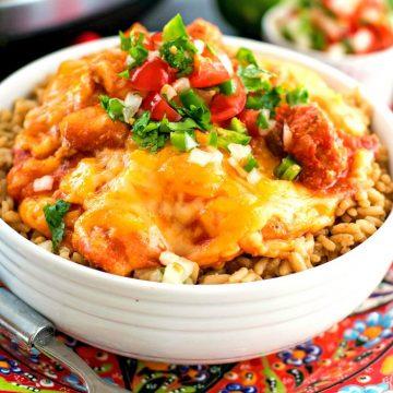 Recipe For Crockpot Cheesy Salsa Chicken