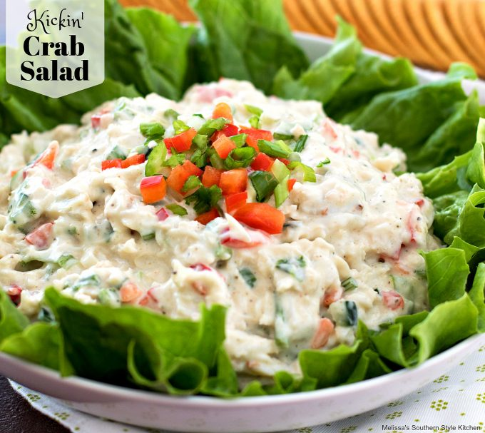 Crab Salad in a bowl
