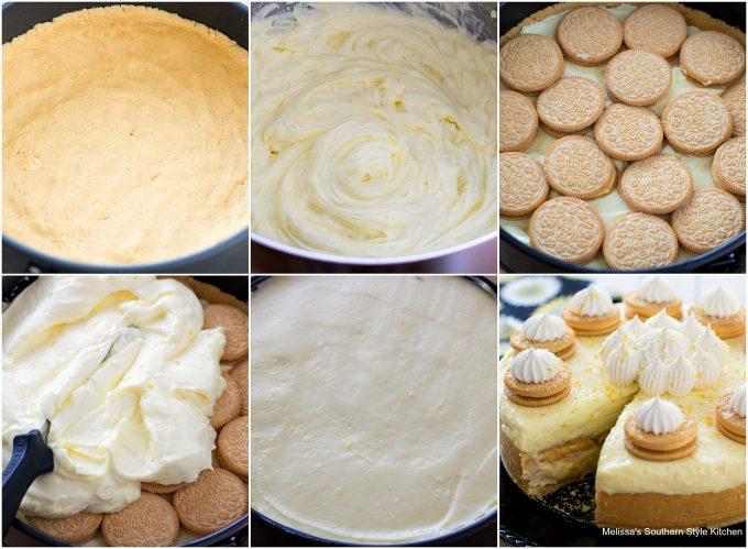 ingredients to make no bake lemon cheesecake