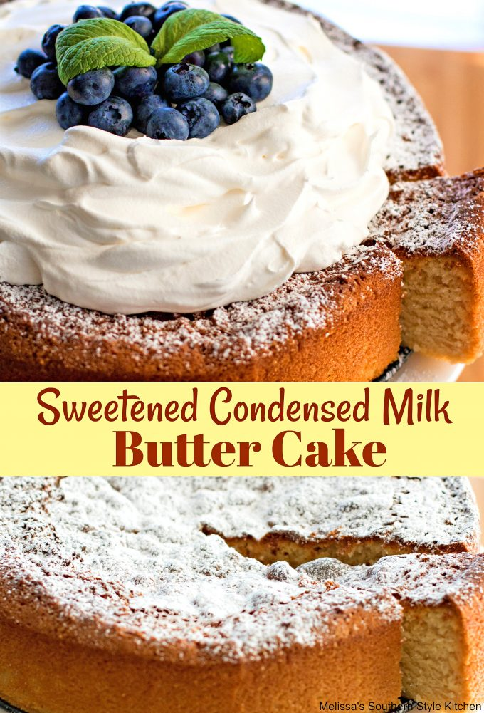 Sweetened Condensed Milk Butter Cake