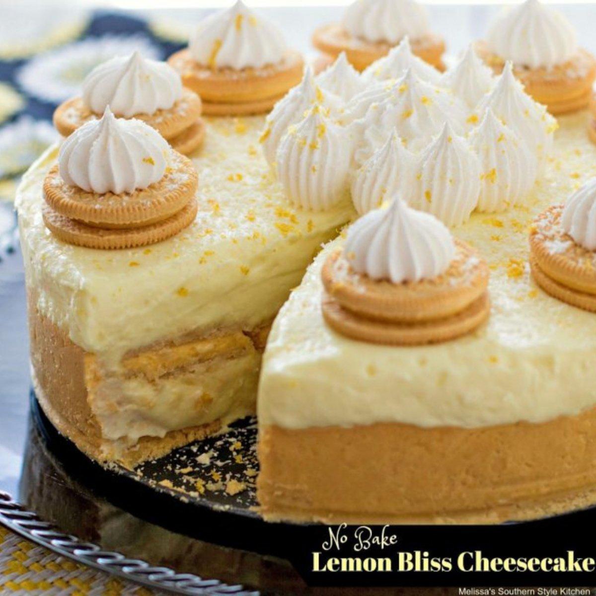 No-Bake Lemon Bliss Cheesecake