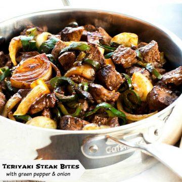 best ever Teriyaki Steak Bites recipe