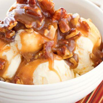 Bourbon Praline Pecan Sauce Recipe