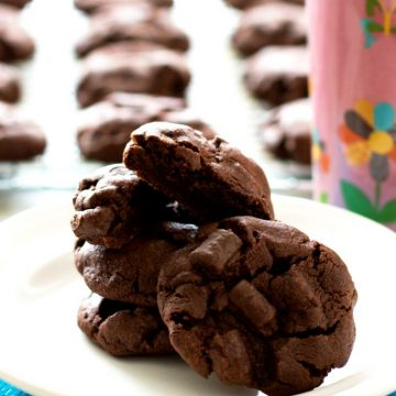 Chocolate Chocolate Chunk Pudding Cookies Recipe