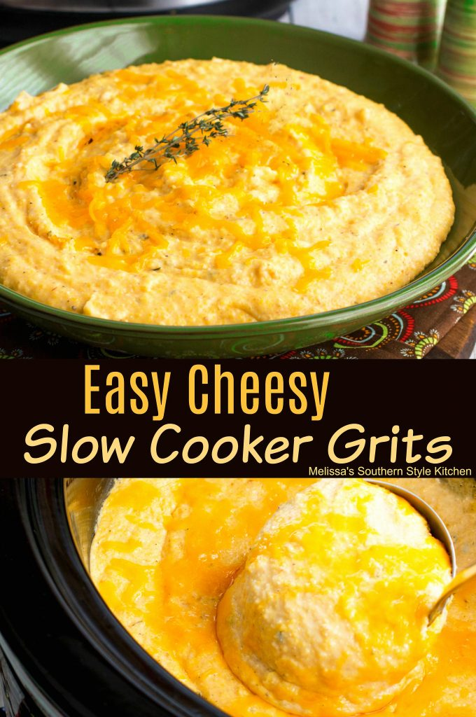 Easy Cheesy Slow Cooker Grits