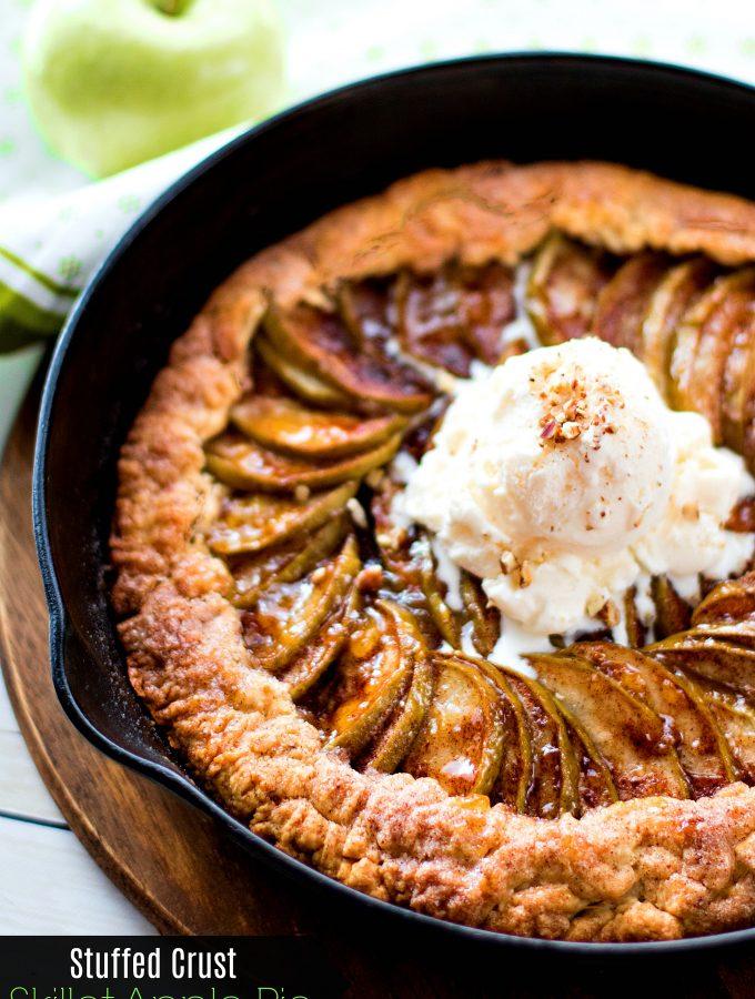 Stuffed Crust Skillet Apple Pie