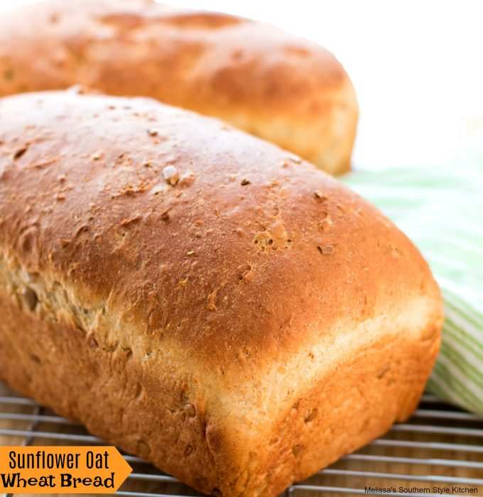 Sunflower Oat Wheat Bread