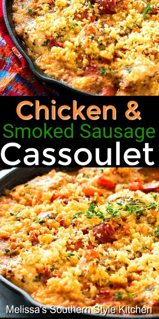 Chicken and Smoked Sausage Cassoulet
