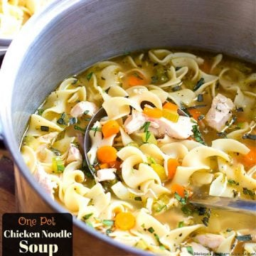 how to make One Pot Chicken Noodle Soup