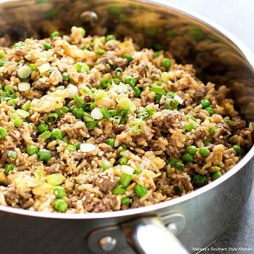 how to make Teriyaki Beef Fried Rice