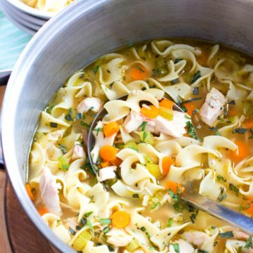 Recipe For One Pot Chicken Noodle Soup