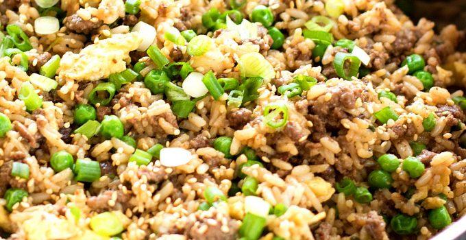 Teriyaki Beef Fried Rice