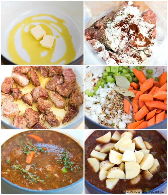 Oven Braised Beef Stew