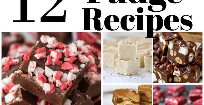 12 Holiday Fudge Recipes
