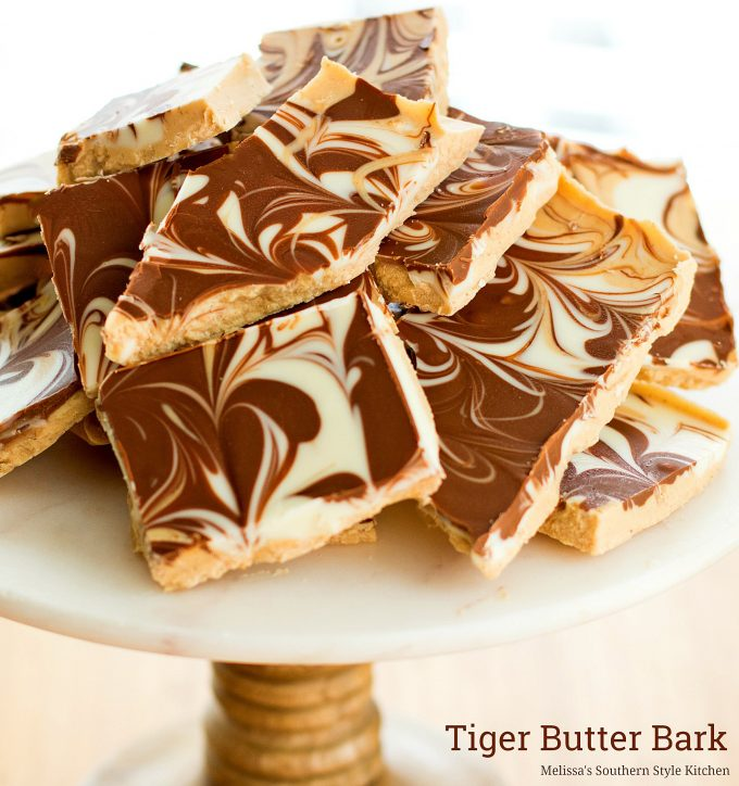 Chocolate Almond Bark Dunmore Candy Kitchen: Tiger Butter Recipe Almond Bark