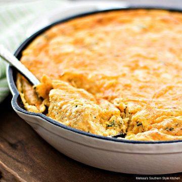 Cheddar Chive Spoon Bread recipe