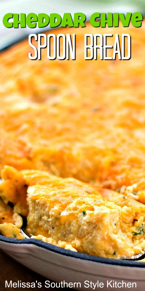 Cheddar Chive Spoon Bread