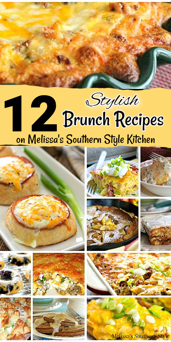 12 Best Brunch Recipes features, casseroles, quiche, biscuits doughnuts and beyond to kick start your day #brunchrecipes #breakfastcasserole #holidaybrunch #Christmasrecipes #sausagegravy #southernrecipes #quiche #hashbrowns #ham #doughnuts #twicebakedpotatoes