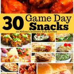 30 Game Day Snacks Worthy of a Touchdown Celebration