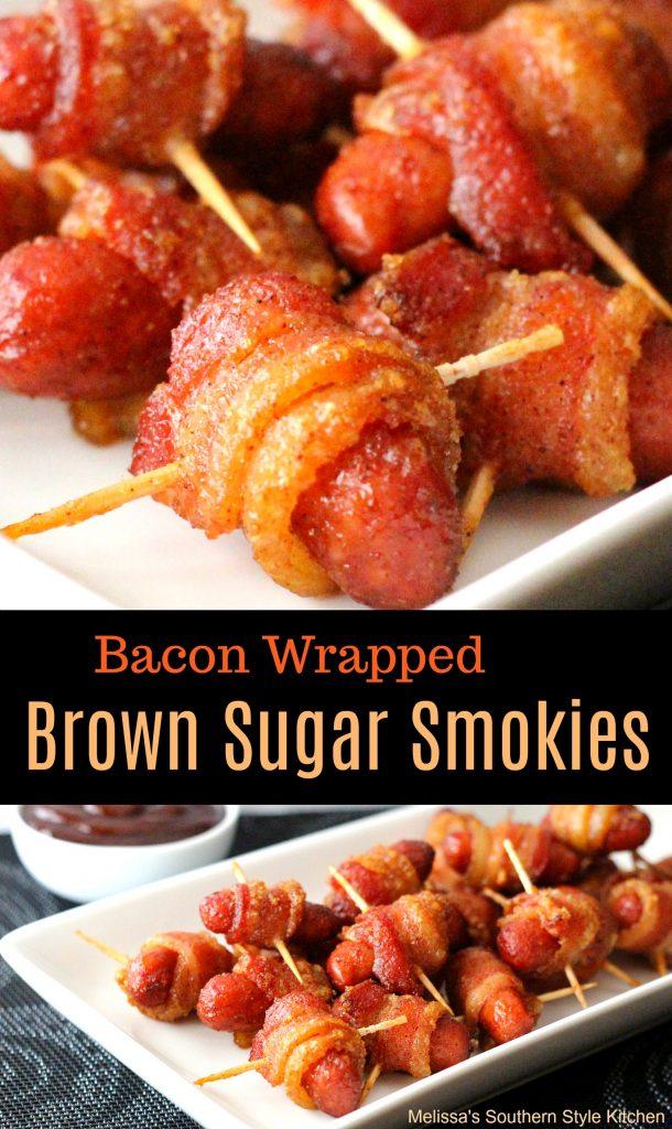 Bacon Wrapped Brown Sugar Smokies ...