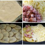 How To Make Slow Cooked Cheesy Scalloped Potatoes With Ham