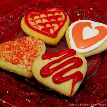 Valentine's Day Sour Cream Sugar Cookies