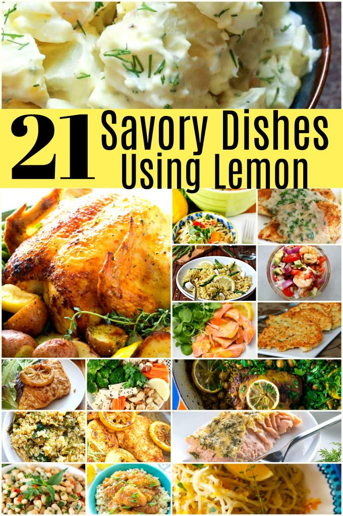 21 Spectacular Savory Dishes Using Lemon