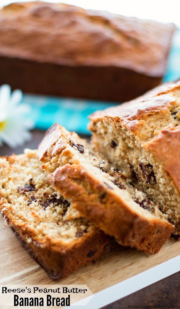 Reeses peanut butter banana bread melissassouthernstylekitchen banana bread is one of those scrumptious sweet breads that has lots of flavor tricks up its sleeve i like to shake up what ingredients i partner with forumfinder Image collections