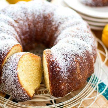 Lemon Butter Bundt Cake recipe