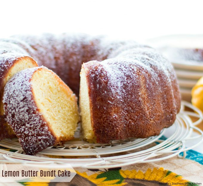 Lemon Butter Bundt Cake Melissassouthernstylekitchen Com