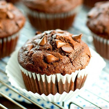 double-chocolate-buttermilk-muffins